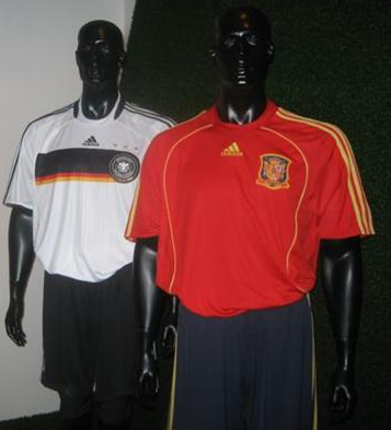 New adidas germany and spain euro 2008 kits?