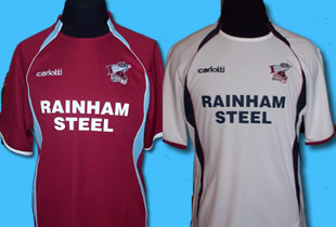 Scunthorpe United have announced the home and away shirt designs for the 2007/08 season.