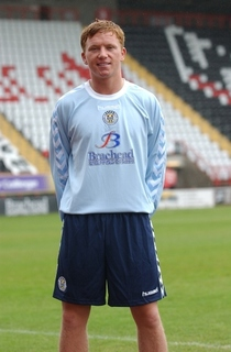 ST. Mirren away kit for season 2007-2008