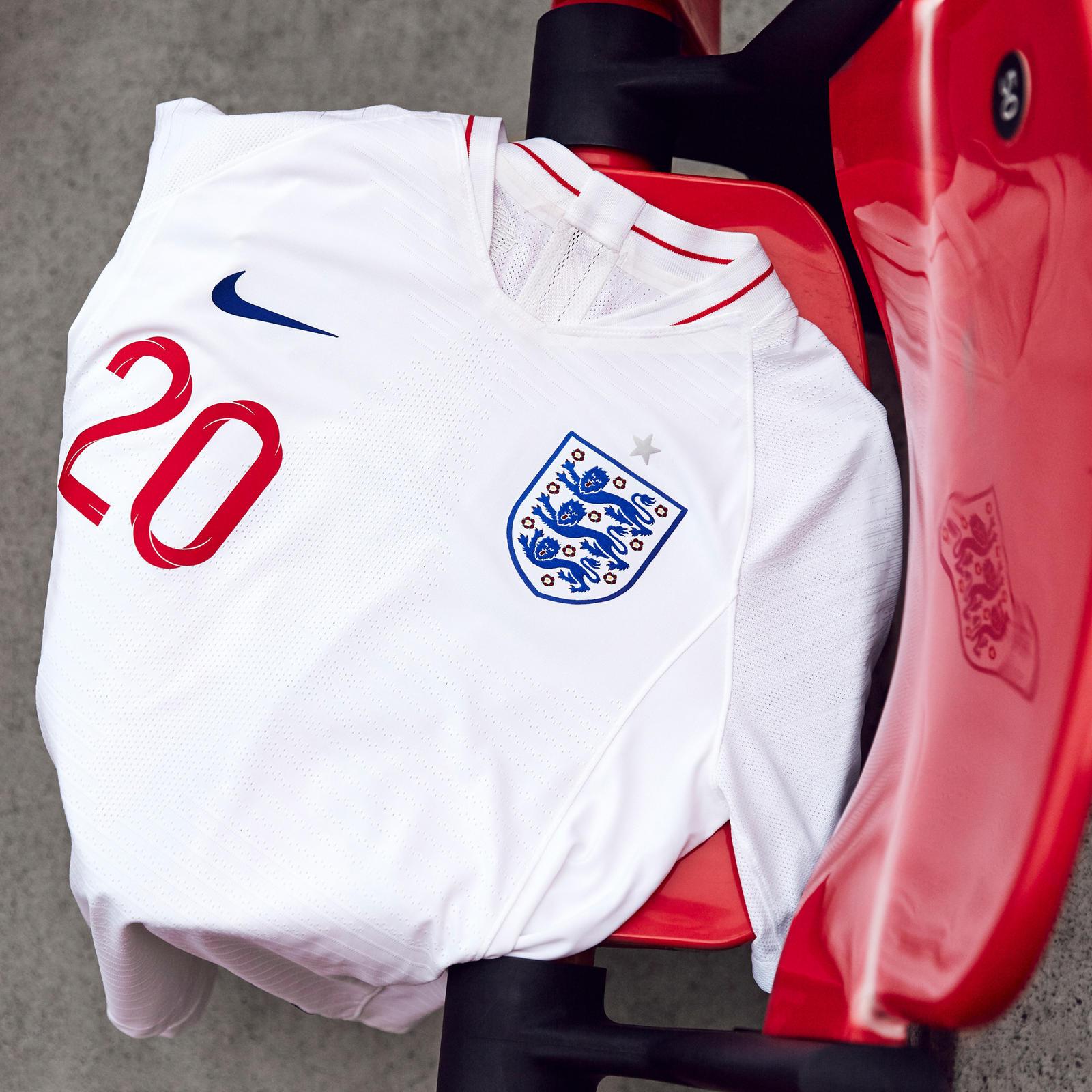 England 2018 world cup nike home kit 17 18 kits for New england kit homes