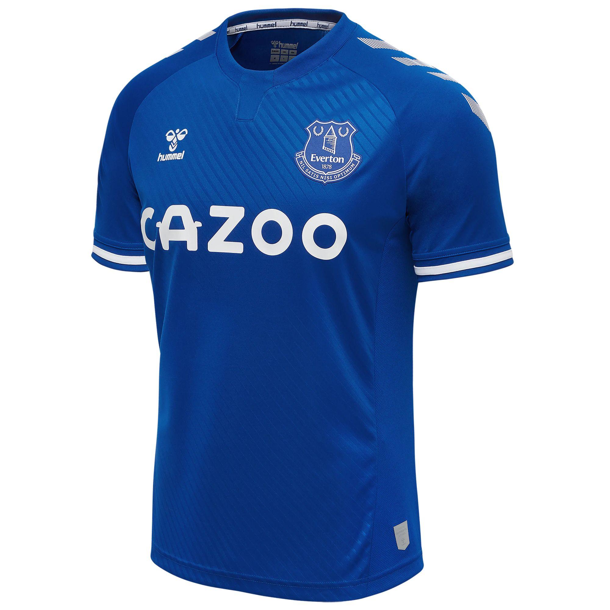 Everton 2020-21 Hummel Home Kit | 20/21 Kits | Football ...