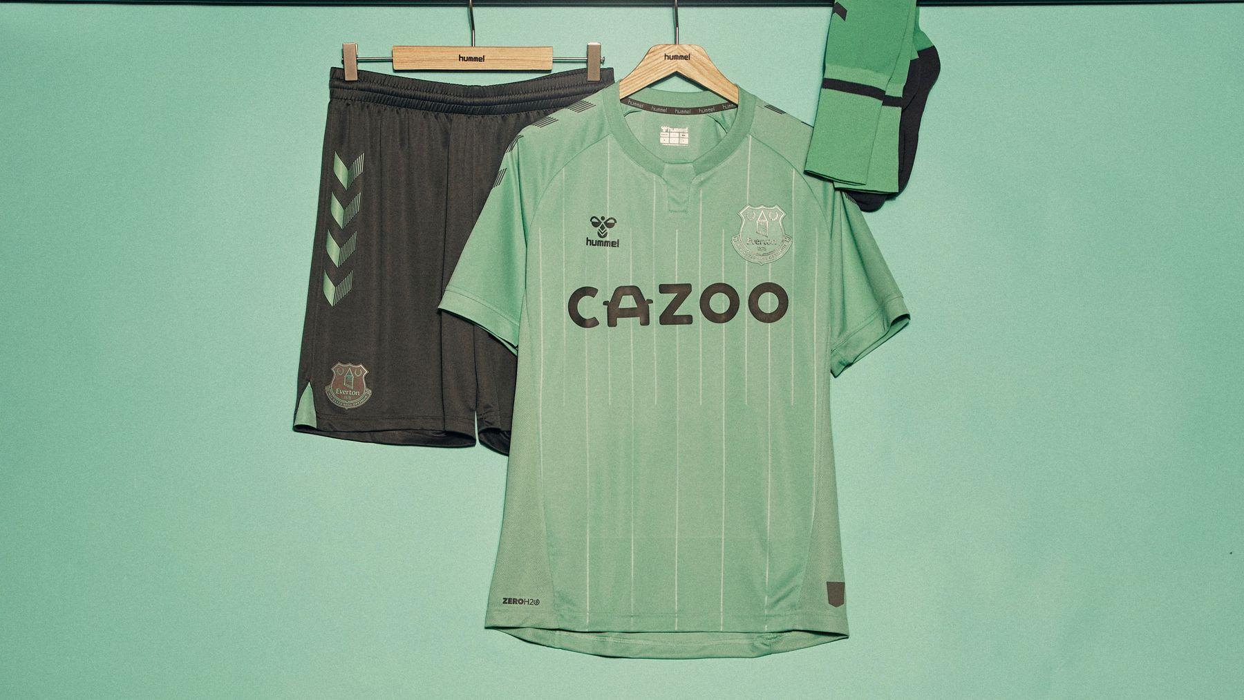 Everton 2020 21 Hummel Third Kit 20 21 Kits Football Shirt Blog