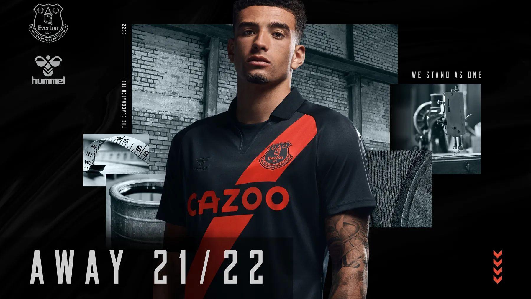 Everton 2021-22 Hummel Away Kit | 21/22 Kits | Football shirt blog