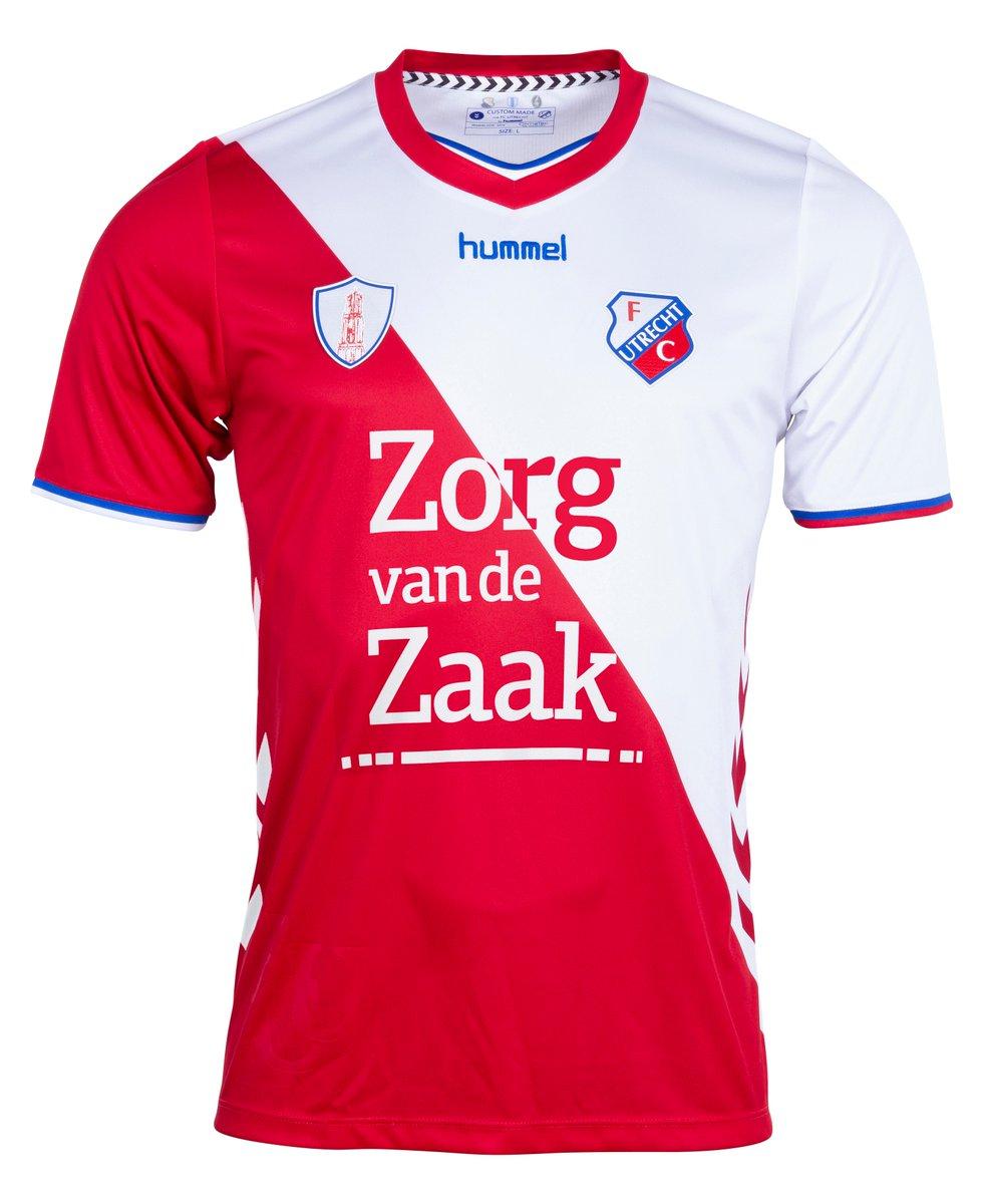 Fc Utrecht 2018 19 Hummel Home Kit 18 19 Kits Football Shirt Blog