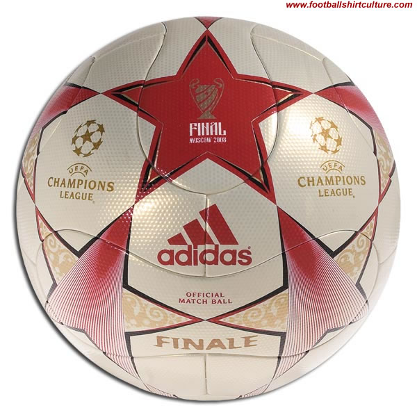 This is the official Adidas match ball of the 2007 Champions League finals