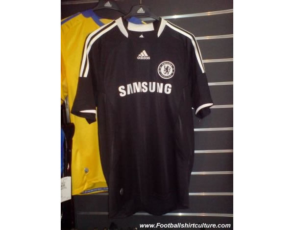 New Chelsea 3rd Adidas shirt 08/09 season