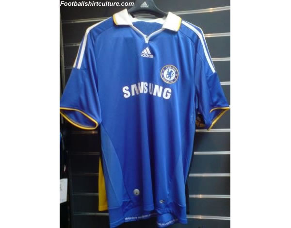 New Chelsea Home Adidas shirt 08/09 season