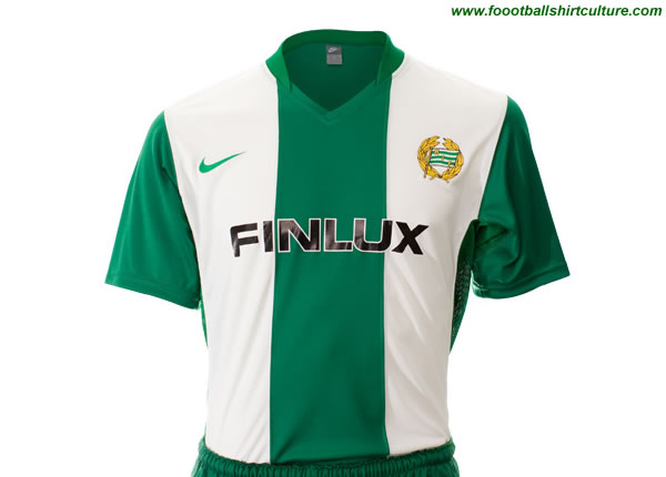 This is the new Hammarby 08/09 home shirt made by nike.