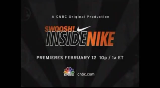 CNBC's premiere of their in-depth look at the history of Nike and its cultural attachment with society is set to hit a television near you on February 12th