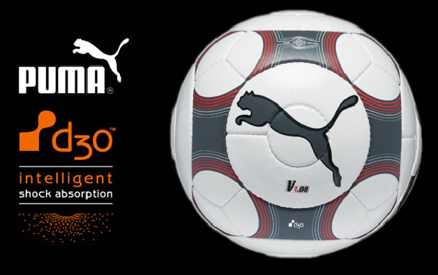 PUMA launched the next generation of its v1.08 ball, complete with numerous technological advancements that help you get the ball to the goal even faster.