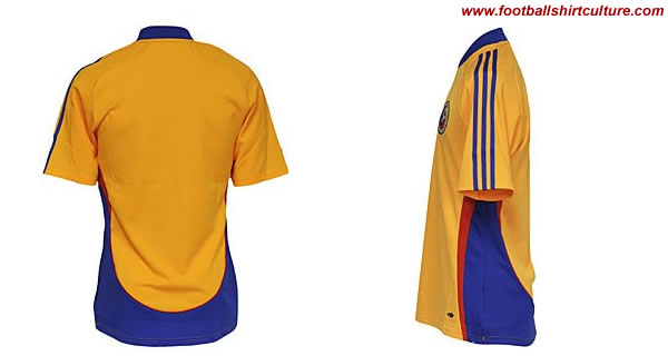 New Romania home shirt 08/09 adidas
