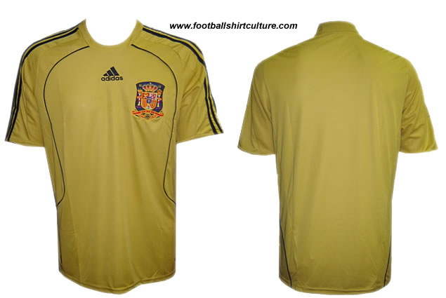 New Spain 08/09 kit launched by adidas