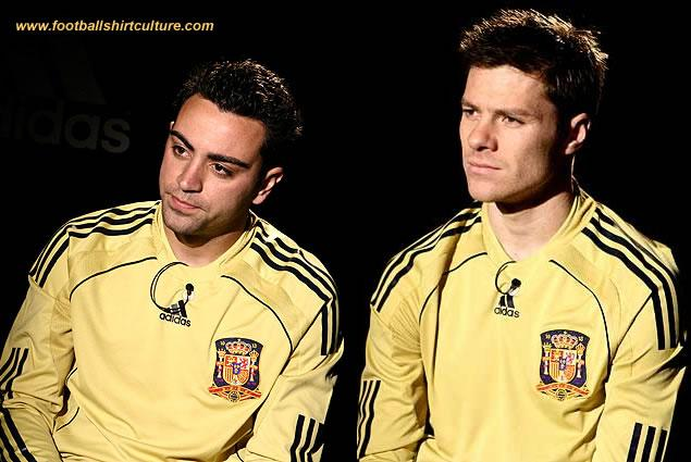 new spain away 08/09 shirt by Adidas launched