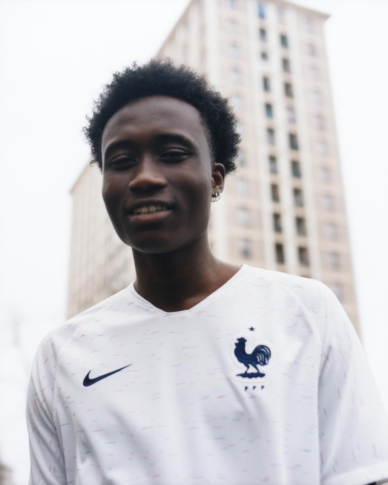 meet b8845 cbe03 France 2018 World Cup Nike Away Kit   17/18 Kits   Football ...