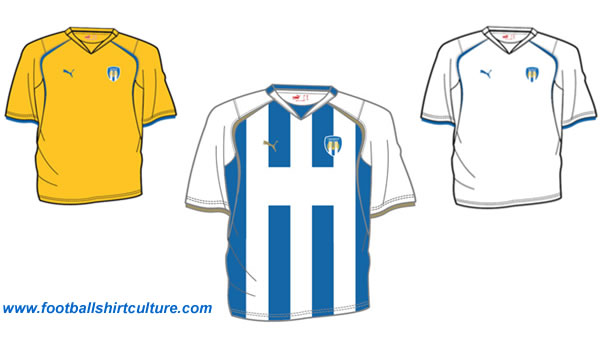 Colchester United unveiled the new Puma kit designs for the 2008-2009 season.