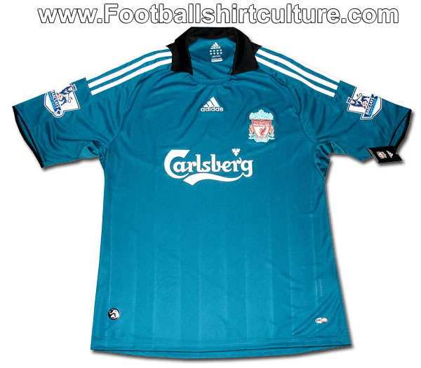 hot sale online 9d768 65d62 Liverpool 08/09 3rd Adidas football shirt leaked | 08/09 ...