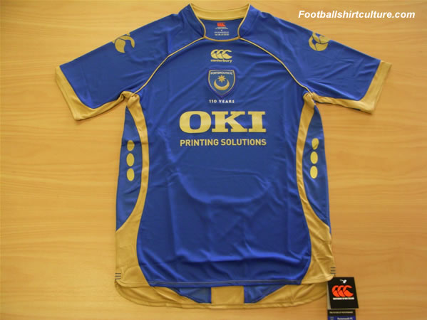 Pompey announce all blue 2008-09 Canterbury kit