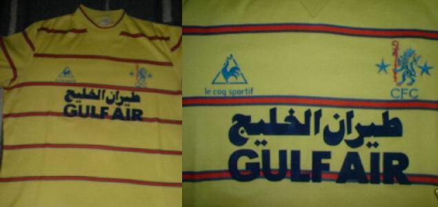 on sale 18dc6 032bf Ebay : Chelsea 83/84 gulf air Le Coq Sportif shirt | Vintage ...