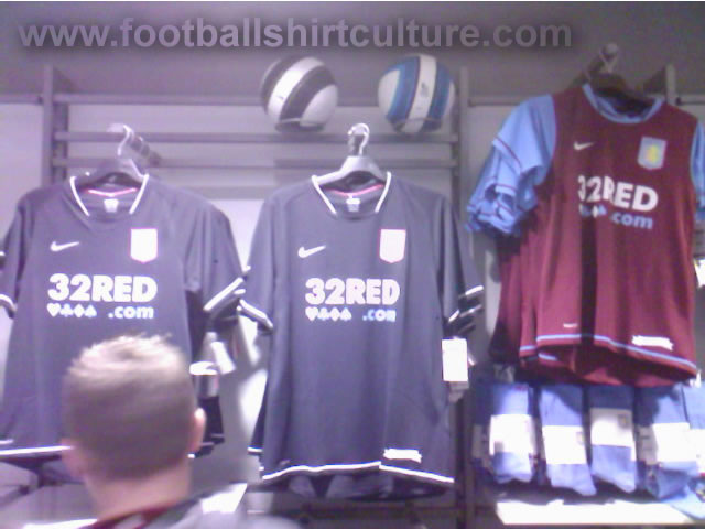 new Aston Villa 3rd shirt made by nike for the 07/08 season