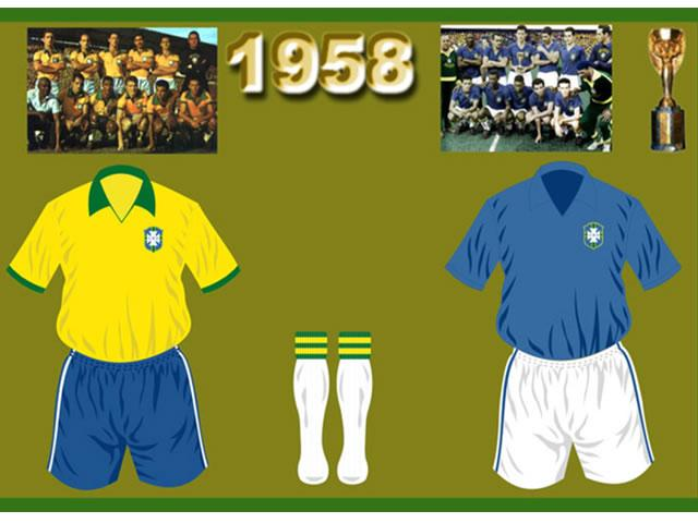 The CFB launched their new 08/09 football kit by Nike.During the design proces of new 08/09 Brazil football kit nike has gotten their inspiration from the 1958 FIFA World Cup, held in Sweden