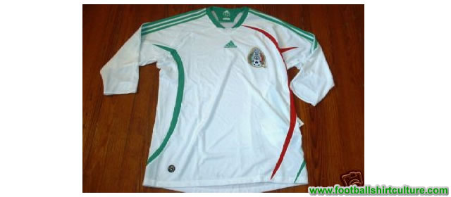 Is this the new mexico 08/09 home shirt made by Adidas? or is it the away version..