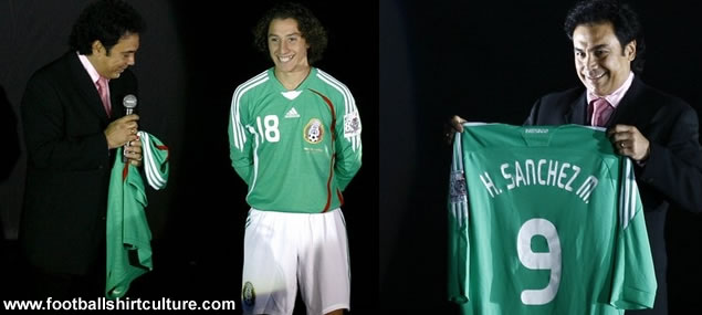 New Mexico home shirt 08/09 by adidas