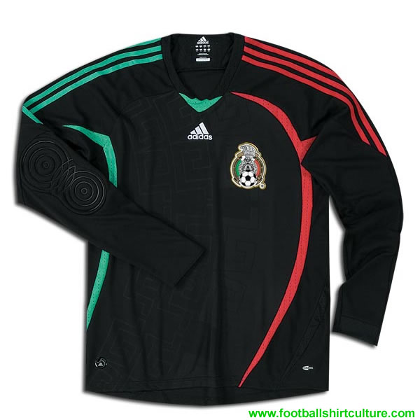 mexico adidas goalkeeper shirt 08/09