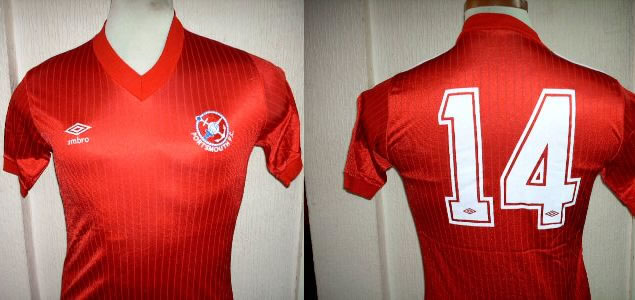 PORTSMOUTH Away Shirt 1985 Umbro PLAYER ISSUE No 14