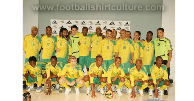 New south africa 08/09 home kit by adidas