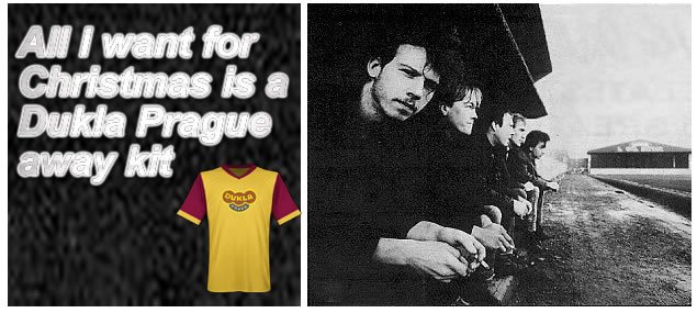 All I want for Christmas is a Dukla Prague away kit