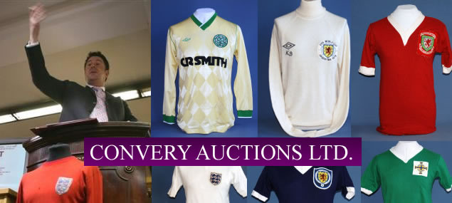 Convery Auctions Ltd is a new auction house established by David Convery, the former Head of Sporting Memorabilia at Christies.
