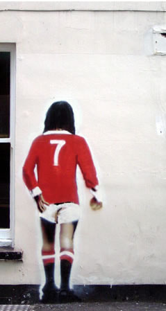 "George Best infamously admitted to spending his wages ""on booze, birds and fast cars,"" but while this may be usual for a professional footballer, the typical fan squanders their money on, among other club merchandise, the prized football shirt."