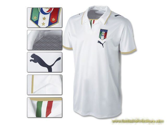 New italy away shirt for Euro 2008 made by puma