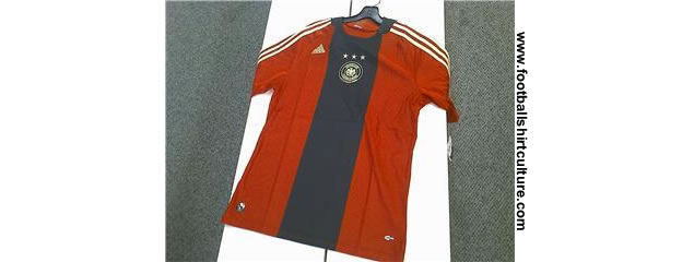 New Germany away shirt for Euro 2008 by adidas