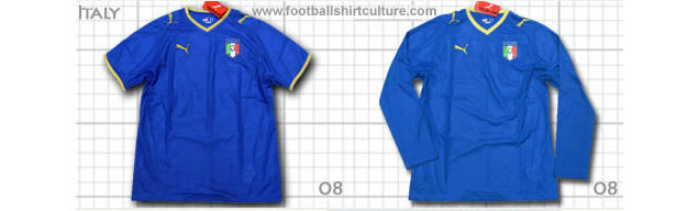 New italy 08/09 shirt by puma