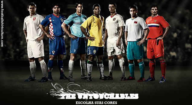 """the Untouchables""   : from left to right:  Serbia, Croatia, Holland, Brazil, Portugal, Turkey and Russia."