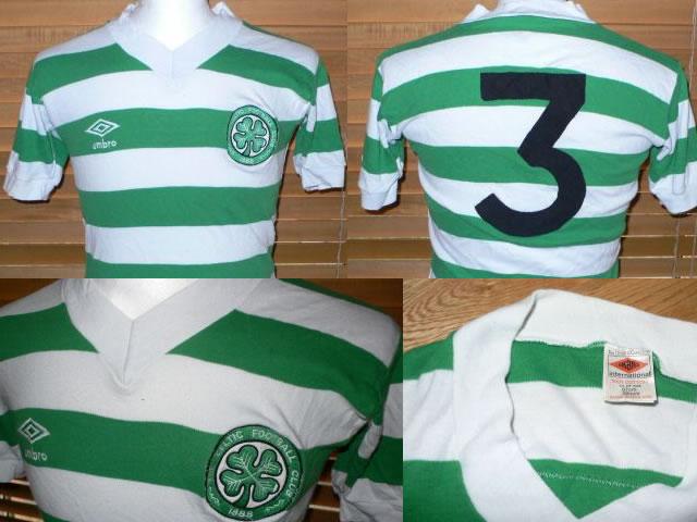 pretty nice 38b24 8c0d7 Ebay : Match worn Celtic 79/80 umbro shirt | Vintage ...