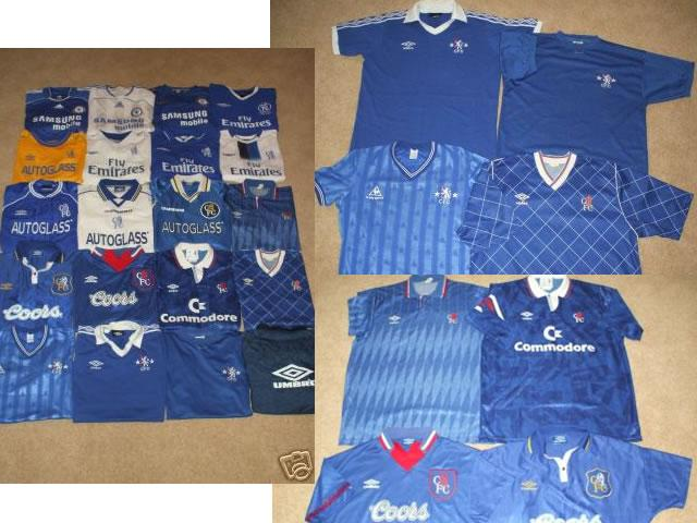 On offer is here the ultimate opportunity to purchase some very very rare and vintage Chelsea FC Shirts.