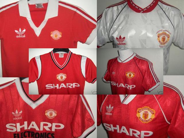 Manchester united Adidas shirt collection