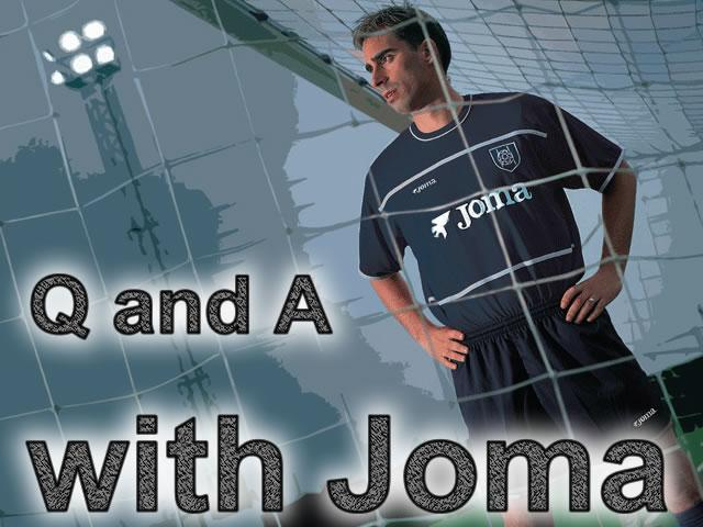 Q and A with joma UK