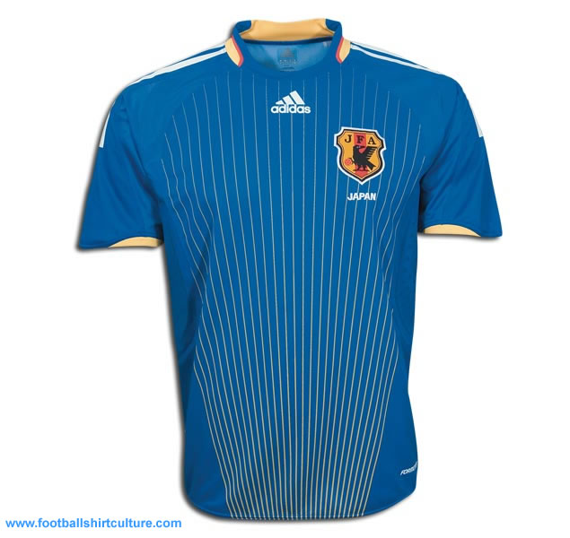 This is the new Japan home shirt for the 08/09 season and made by Adidas