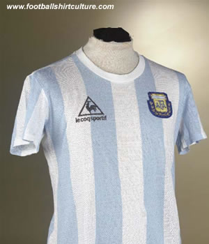 It would seem these days that every collector worth his salt has got a match worn Maradona shirt proudly displayed on his website.