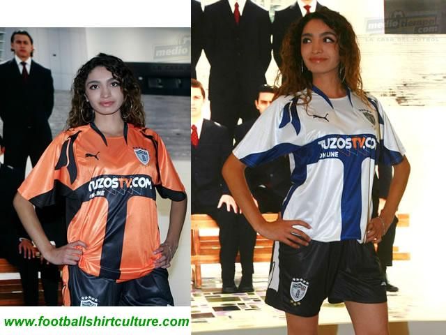 Pachuca FIFA Club World Cup Japan 2007 home and away by Puma