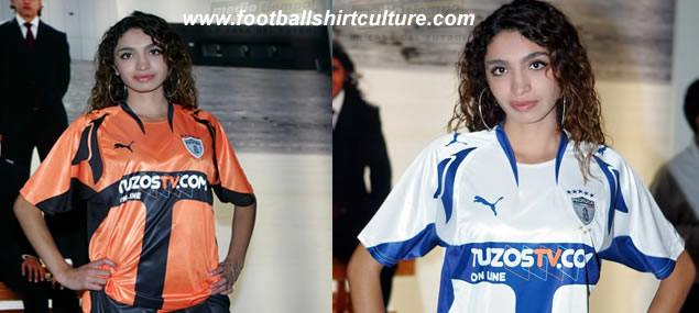 Pachuca FIFA Club World Cup Japan 2007 home and away kits by Puma