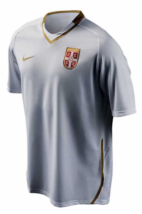 New Serbia away shirt 08/09 by Nike