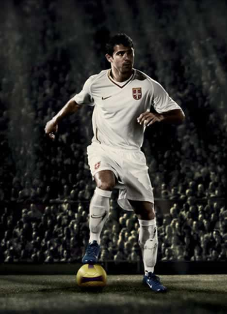 New Serbia away kit 08/09 by Nike