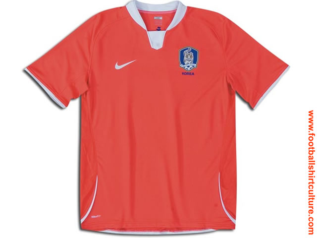 This is the new South Korea home shirt made by Nike for the 08/09 season