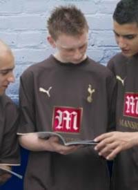 Flashback Tottenham Hotspur 06 07 3rd Shirt
