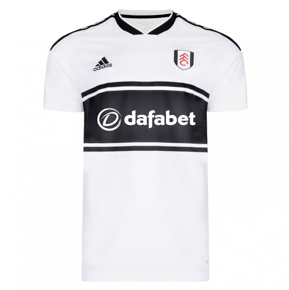 Fulham 2018-19 Adidas Home Kit | 18/19 Kits