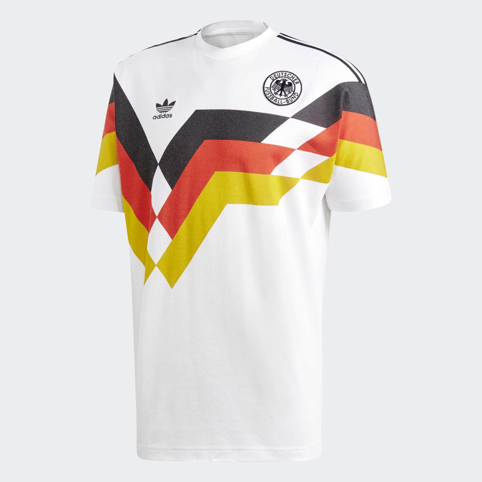 ... Click to enlarge image  germany 1990 adidas originals home replica jersey e.jpg ... 79c0d7fb6